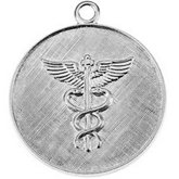Medical Caduceus Stamping