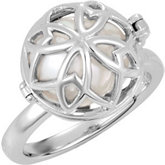 Open Hinged Cage Ring