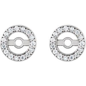 Diamond Earring Jacket or Mounting