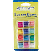 Artistic Wire&reg:  12 Color Variety Pack