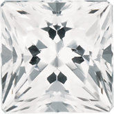 Square SWAROVSKI GEMSTONES™ Genuine White Topaz