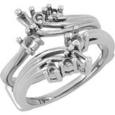 Accented Baguette Ring Guard