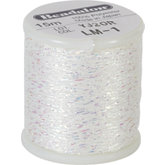 Beadalon White Poly Sparkle Thread