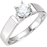 Cathedral Engagement Ring Mounting or Band