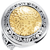 Two-Tone Filigree Design Fashion Ring