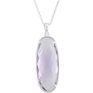Genuine Quartz Necklace or Pendant