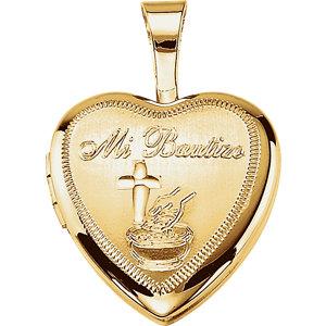 Bautizo Heart Locket