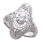 Filigree Ring Mounting