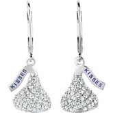 HERSHEY'S KISSES® CZ Lever Back Earrings