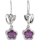 BFlower™ Cubic Zirconia Dangle Earrings