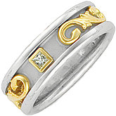 Diamond Etruscan Band