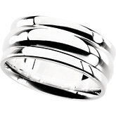 Gents Sterling Silver Fashion Ring