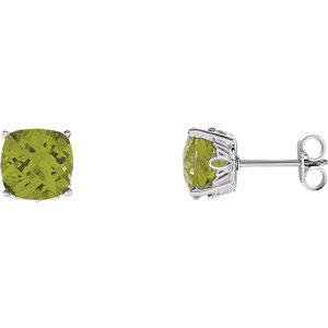 Sterling Silver Perdiot Earrings