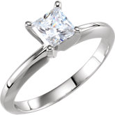 4-Prong Heavy Solitaire Engagment Ring