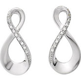 .08 ct tw Diamond Earrings
