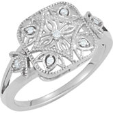 .05 ct tw Diamond Ring