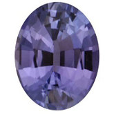 Oval Genuine Tanzanite (Black Box)