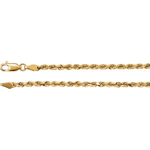 Diamond Cut Rope Chain 2.8mm (replacing CH514)