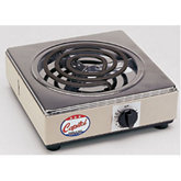 Single Burner Electric Hot Plate, 6A/700W