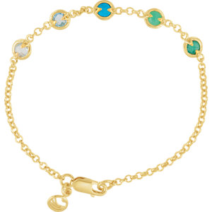 Missoma® Multi-Gemstone Necklace or Bracelet