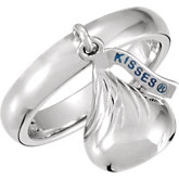 HERSHEY'S KISSES Ring with Kisses Dangle