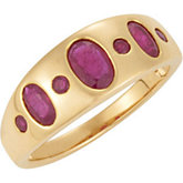 Genuine Mozambique Ruby Ring