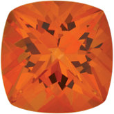Antique Square SWAROVSKI GEMSTONES™ Genuine Poppy Topaz