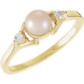 Ring Mounting for 5.0 mm Pearl
