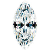 Marquise Lab Created White Cubic Zirconia