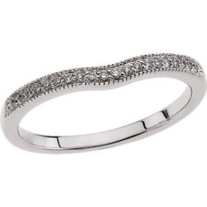 Sapphire & Diamond Engagement Ring, Semi-Mount or Band