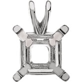 Princess 4 Prong Lightweight Pendant Mounting