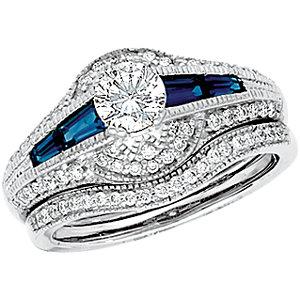Platinum 1/1  ATW Diamond Band Size 6