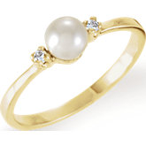Ring Mounting for 4.5 mm Pearl