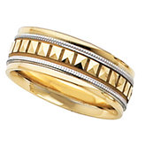 7.75mm Two Tone Design Band