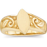 Ladies' Signet Ring