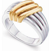 Multi-Band Design Fashion Ring