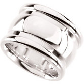 Ladies Sterling Silver Fashion Ring