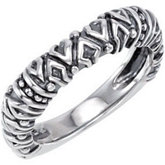 Stackable Metal Fashion Ring