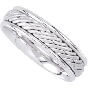 Hand-Woven 6.5mm Comfort Fit Band