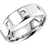 Design 7mm Diamond Band