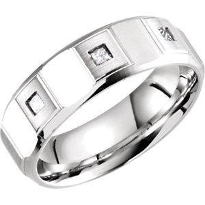 Design 7mm Diamond Band