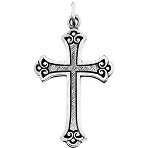 Fancy Cross Pendant