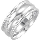 8mm Ladies or Gents Wedding Band