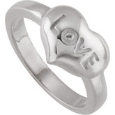 Love Heart Fashion Ring