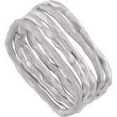 Set of 5 Square Stackable Rings