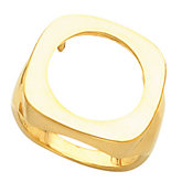 Ladies Coin Ring Mounting