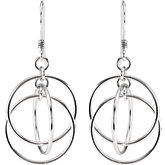 Circle Design Earrings