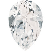 Pear SWAROVSKI GEMSTONES™ Genuine White Topaz