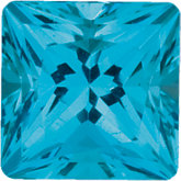 Square SWAROVSKI GEMSTONES™ Genuine Paraiba-Color Topaz