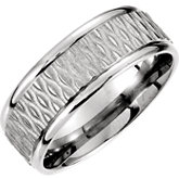 Fancy Patterned Carved Band 8mm